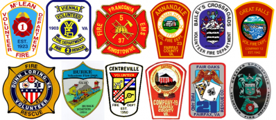 Fairfax County Fire and Rescue Department Station Patches